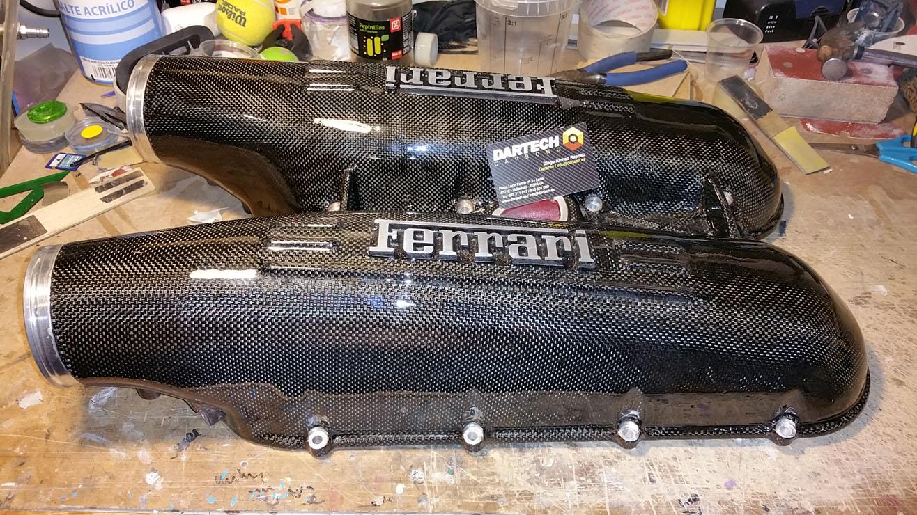 Forrado Admisión Ferrari F430